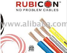 Submersible PVC Flat Cables, Single & Multicore Flexible Cables