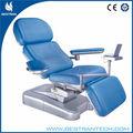 Bt-dn001 multifunción eléctrico de donantes de sangre de motor silla reclinable