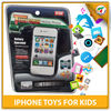 New Model PP Music Toys iphone Plastic Mobile Phone Toy For Kids with EN71,EN62115