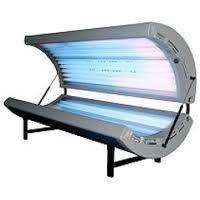 RelaxSun 24 Tanning Bed, 24 x 100 Watt Bronzing Lamps