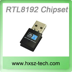 usb 2.0 802.11n/b/g 300mbps wi-fi/wlan wireless network adapter
