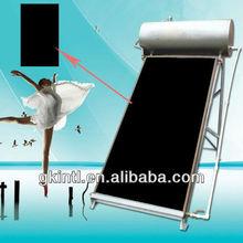 Black chrome plated aluminium solar heater pool collector