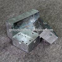 BS 4662 small metal hinged lid tin box