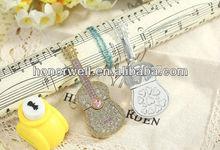 Jewelry Crystal Guitar Music Instrument USB Flash Drive