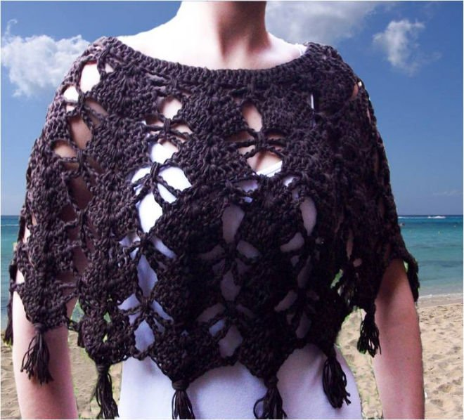 Category: Crochet Poncho Patterns - AllFreeCrochet.com - Free