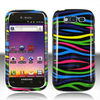 PC design rubber feel rubberized Plastic snap on cell phone cover case for Samsung Galaxy S Blaze T769