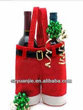 red velvet bag for gift,Christmas gift bag