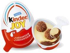 Kinder JOY, Egg, Chocolate