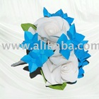 Sapphire Delight Flowergirl Posy Bouquet