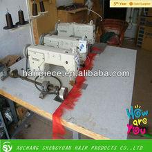 three head hair weft industrial sewing machine/juki industrial sewing machine /brother sewing machine