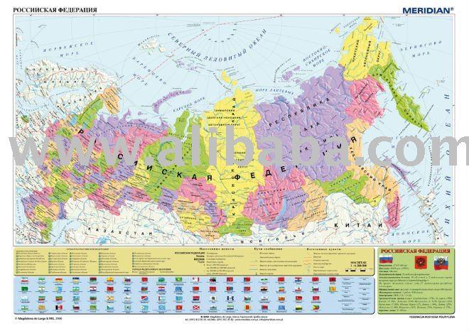 political maps of russia. Russia political map(Poland)