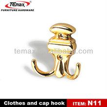Temax manufacturer antique brass curtain hook