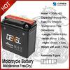12V high cycle mf sealed motor batteryYTX5AL-BS