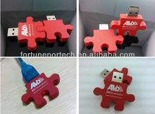 puzzle usb logo/high quality usb flash drives