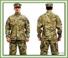 KV18-010 BDU A-TACS FG Camouflage suit sets Army Military uniform combat Airsoft uniform -Only jacket & pants