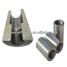 Carbon Steel Rebar Threaded Coupler concrete construction building material