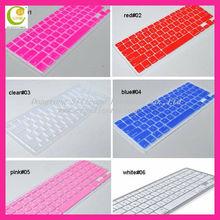 High grad waterproof & dustproof coloured silicone keyboard skins for laptop/desktop/computer