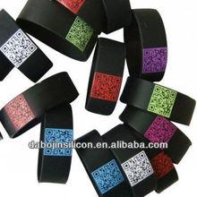 promotional qr code wristbands hand bands