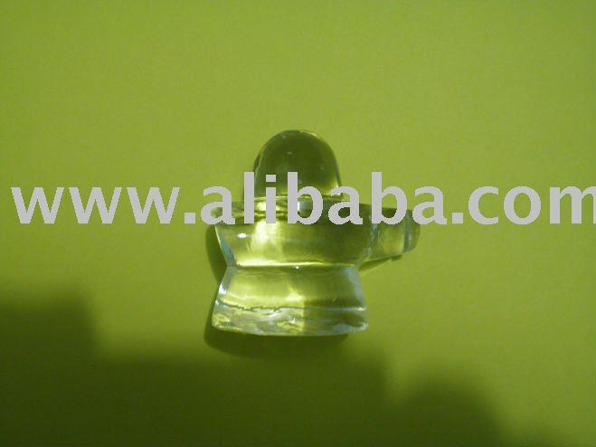 Sphatik Crystal Lingam