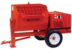 Crown S16SH 16 cu ft Hydraulic Mortar Mixer 13HP Honda Engine