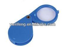2014 de alta calidad instrumentos de óptica de vidrio de aumento de la cadena dominante lupas portable lupa de vídeo