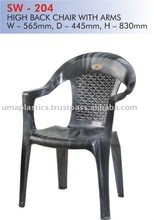Plastic Chairs with Arms