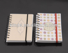 with elastic / rubber band notebook / agenda / book