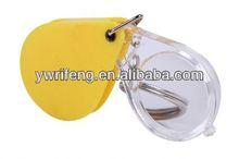 2014 más barato de china instrumentos de óptica de vidrio de aumento de la cadena dominante lupas portable lupa de vídeo