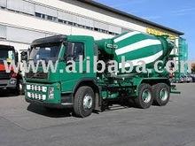 Truck mounted mixer