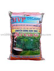 Organic Granular Fertilizer for Rubber Tree