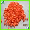 Plastic orange masterbatch raw material for preschool education equipments
