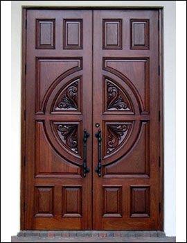 Big doors pintu wood 011 buy entry doors product on for Big entry doors