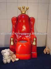 King crown toilet.
