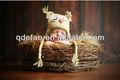 Gufo assonnato bambino cappello uncinetto prop foto fatte per tutti i formati( neonato- bambino)