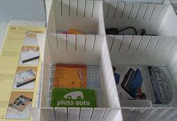 PTSR-004 plastic drawer organizer divider