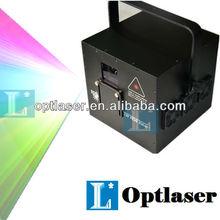 Latest red 638nm diode laser RGB 2watt laser projector light