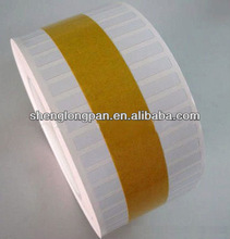 high temperature polyimide printed label can stick an not easy tear,Anti-fake glue
