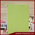 Fold leather belk tablet case for ipad 2/3/4