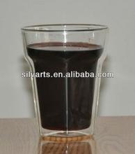 double wall glass cup for drink