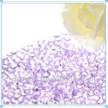 Light Purple Party Diamond Confetti for Wedding Table Decorations