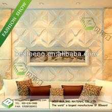 BST creative wave design water proof wallpaper for bathrooms