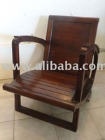 colony armchair Teak wood