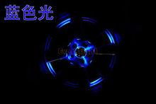 12Leds Waterproof Solar Powered Shinning Wheel Hub Light,abs wheel center caps
