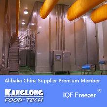 IQF Freezer For frozen chicken thighs