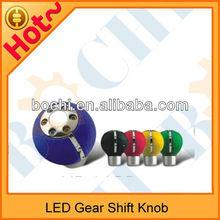 High quality hot sale of car pink gear shift knob