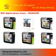 SH0803WF lcd memories digital picture frame