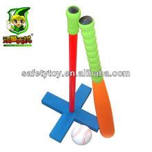 pretty baseball toy set colorful plastic toy baseball bat