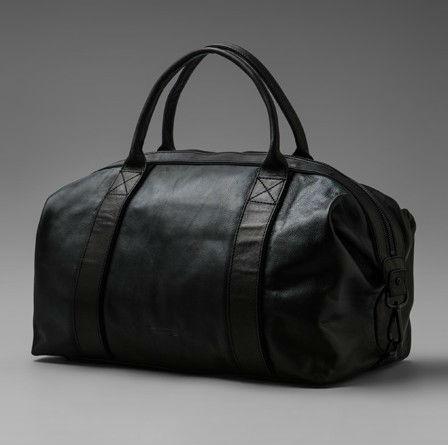 luxury 100% genuine leather weekend bag/travel bag