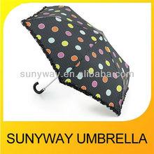 Aluminum Crook Handle Lace Umbrella Sun