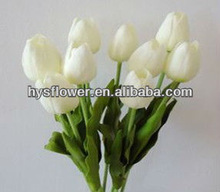 Cheap artificial flower Latex tulips